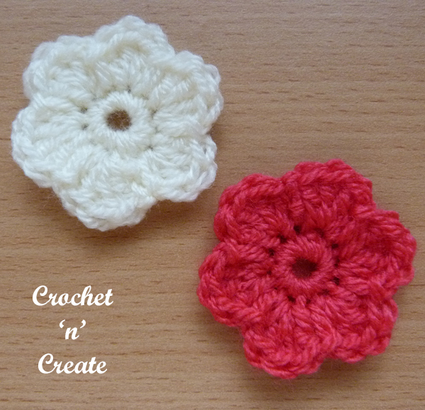 little dinky flower applique uk5