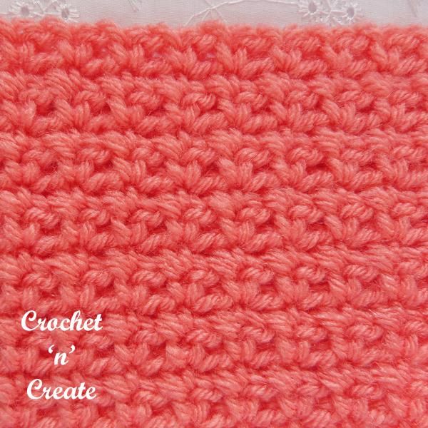 mesh stitch crochet