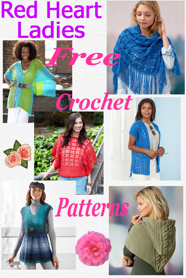 Free crochet ladies wear
