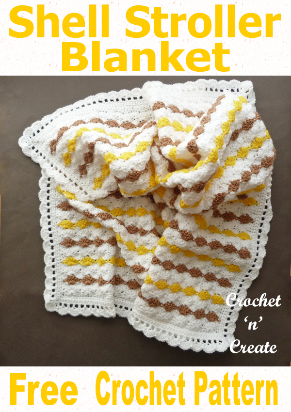 shell stroller blanket uk