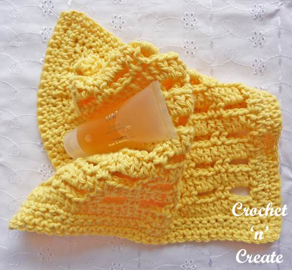 Crochet lemon facecloth uk free crochet pattern