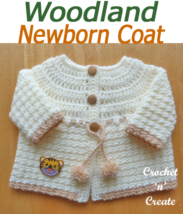 Woodland newborn coat