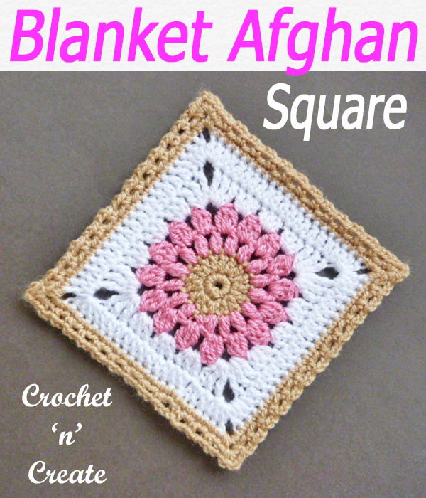 blanket afghan square