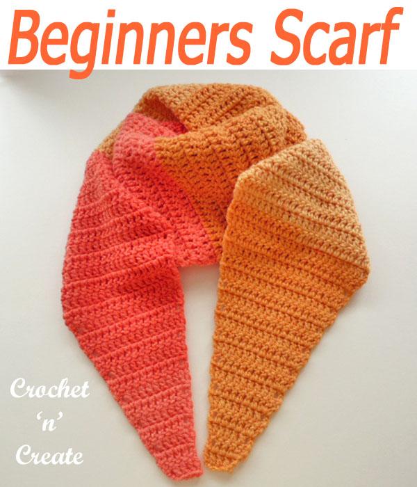 beginners scarf