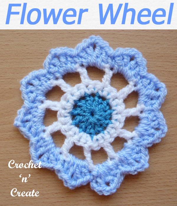 123-flower wheel