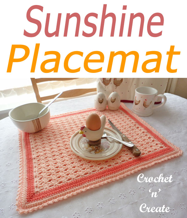 sunshine placemat