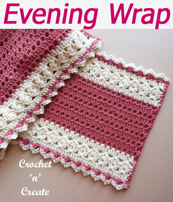 evening wrap cotton wrap lightweight shawl lacy wrap free crochet pattern