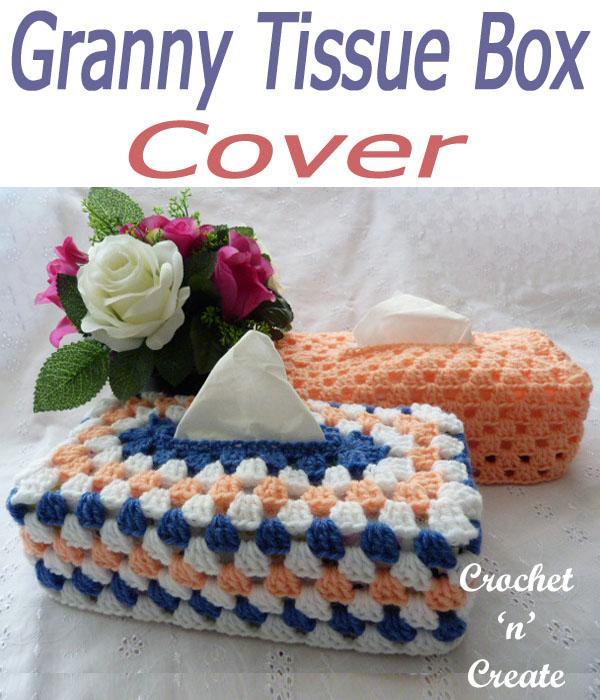 granny tissue box cover