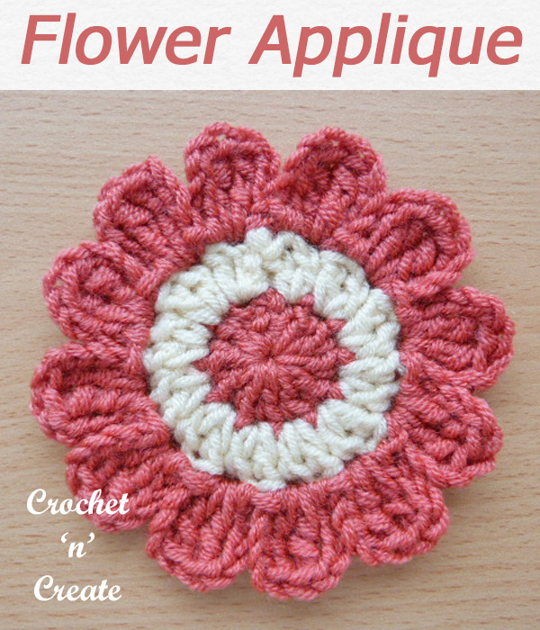 136 flower applique