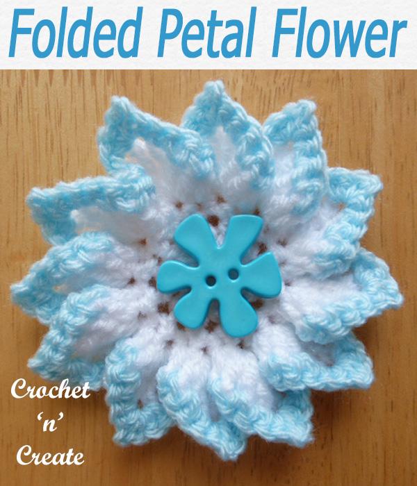 14-folded petal flower