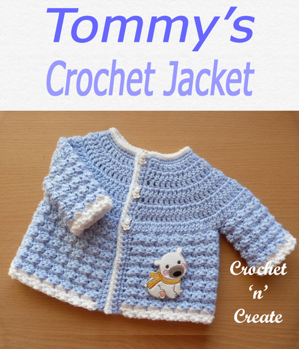 Tommys crochet jacket