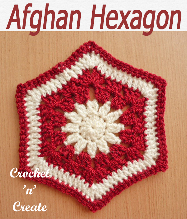 afghan hexagon