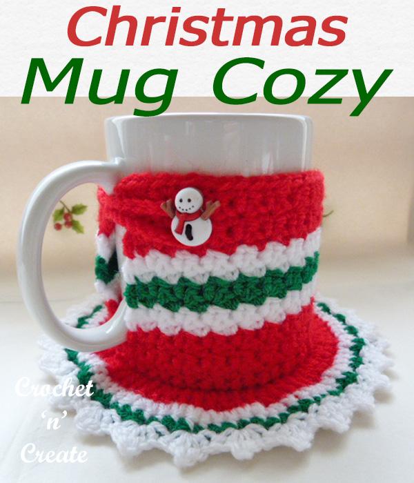 christmas mug cozy