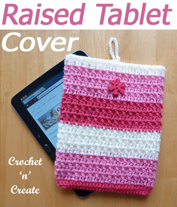 raised tablet cover