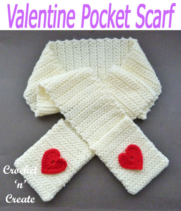 valentine pocket scarf