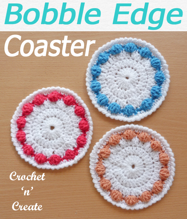 bobble edge coaster