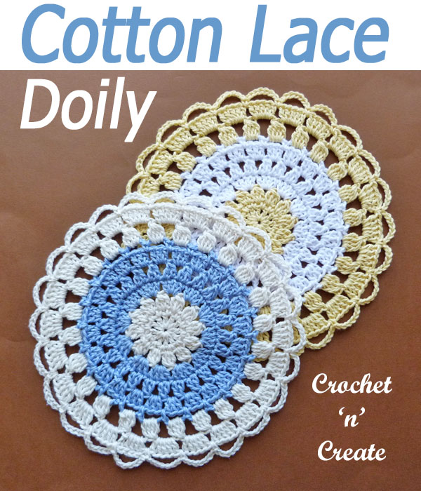 cotton lace doily