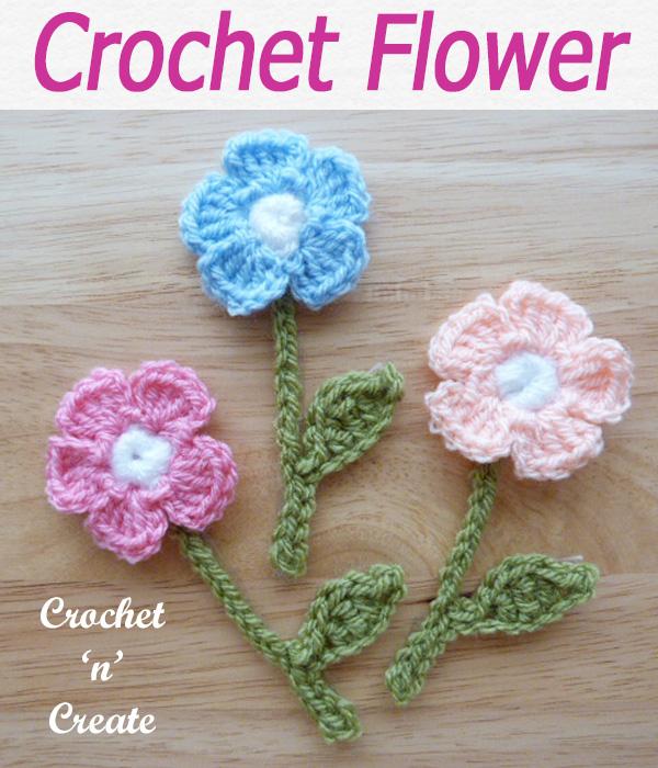 21-crochet flower