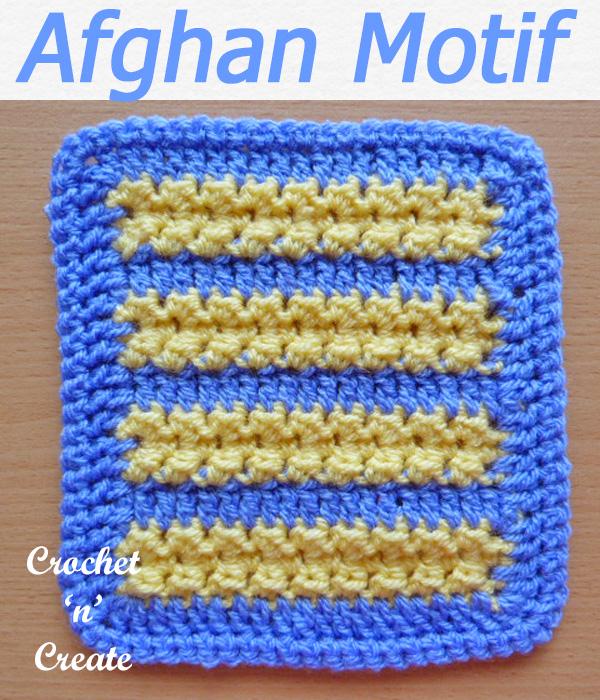 afghan motif