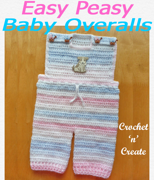Easy peasy baby overalls