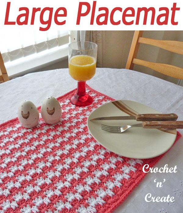 large placemat