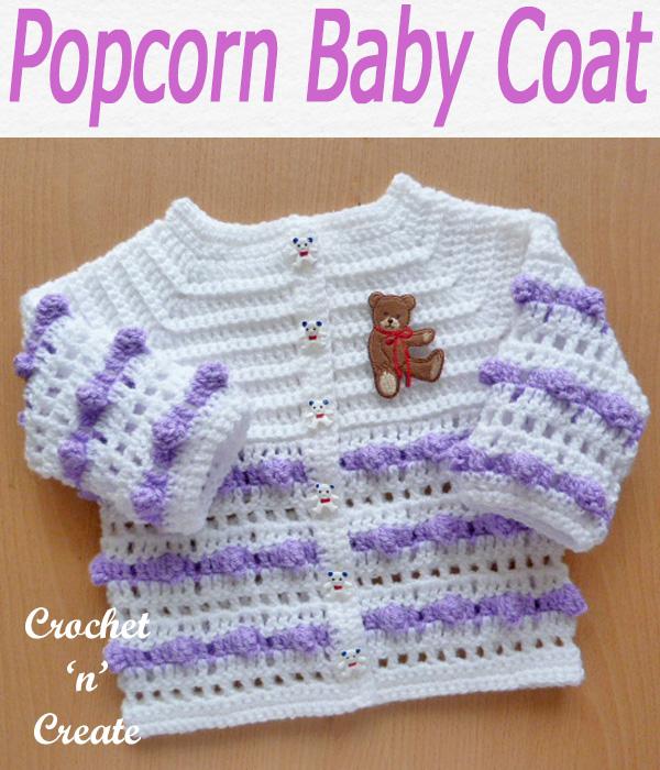 Popcorn baby coat