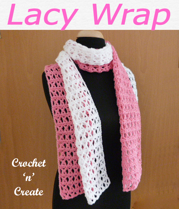lacy wrap free crochet pattern