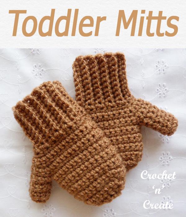 Toddler mitts