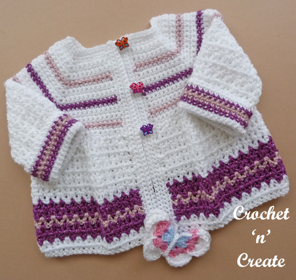 butterfly baby jacket