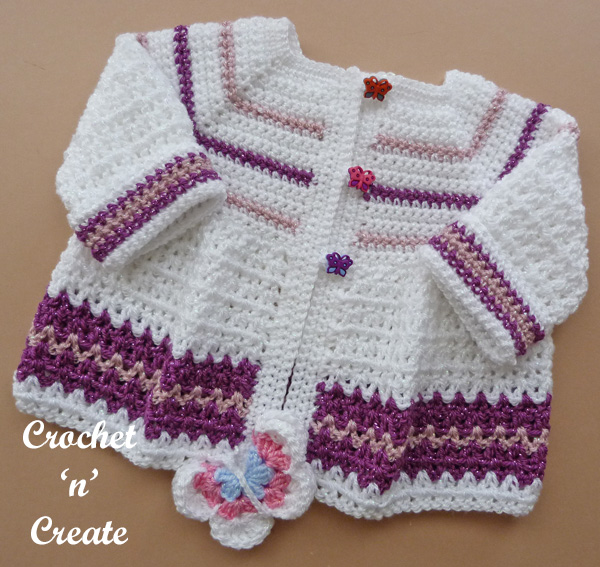 butterfly baby jacket5