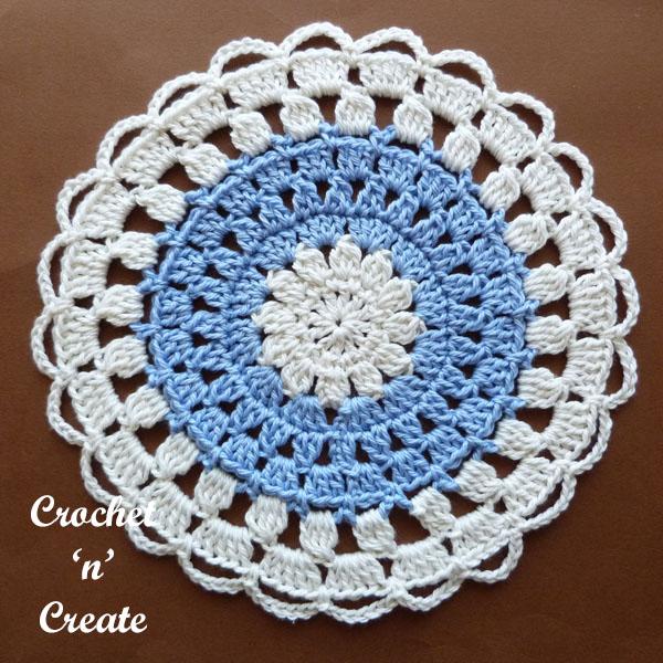 cotton lace doily1