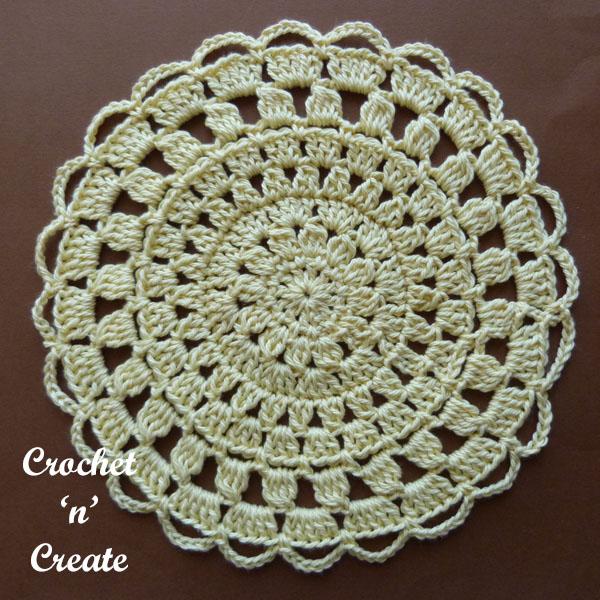 cotton lace doily2