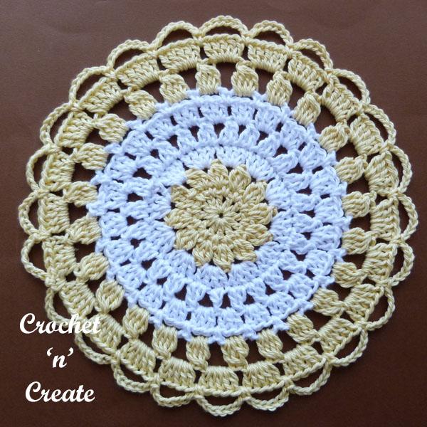 cotton lace doily3