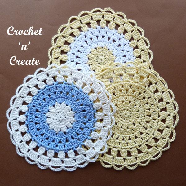 cotton lace doily4