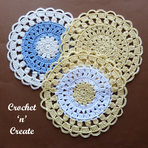 cotton lace doily5