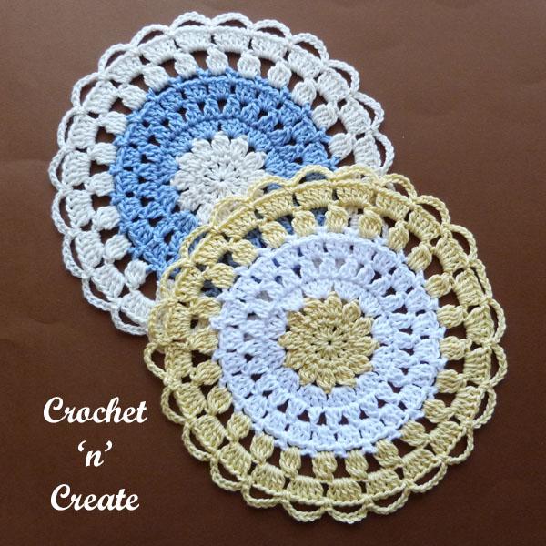 cotton lace doily6