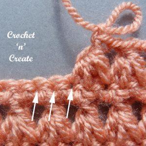 hdc2tog stitch wip2