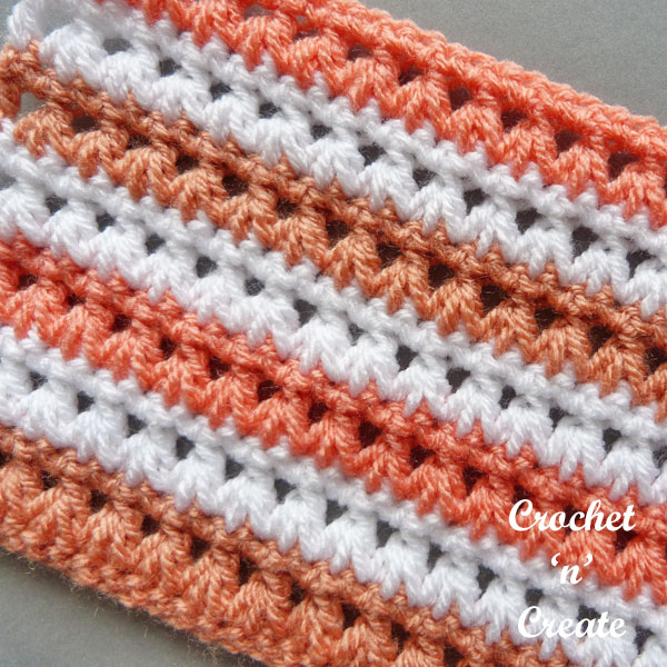 hdc2tog crochet stitch tutorial