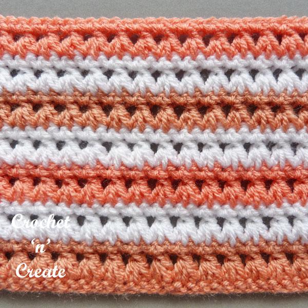 two colour stitch