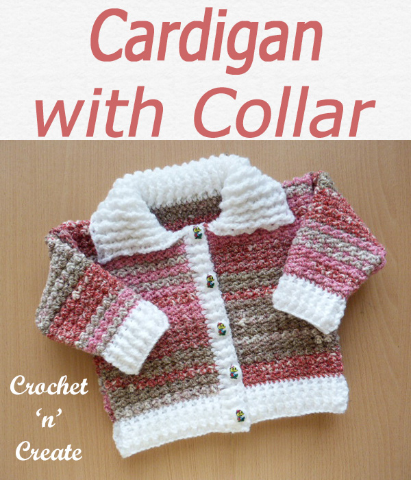 Cardigan with collar