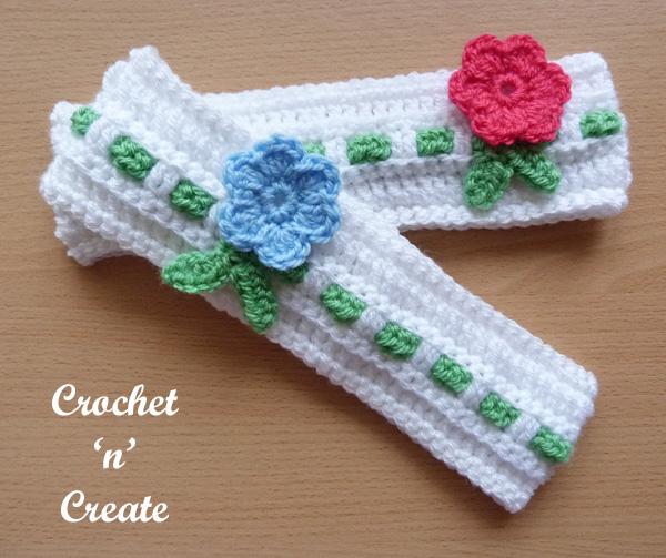 Baby crochet headband10