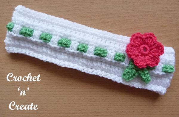 Baby crochet headband6