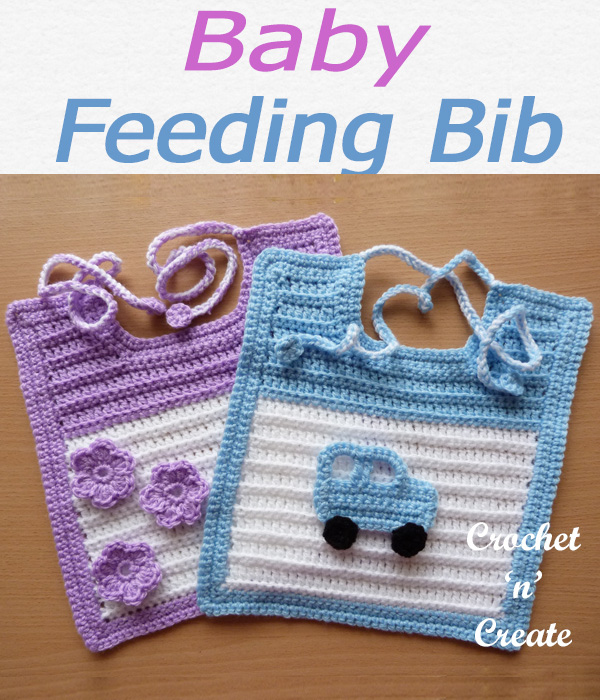 Baby feeding bib