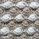 scallop stitch crochet tutorial