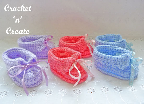 free baby crochet slippers13