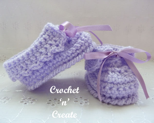 baby crochet slippers3