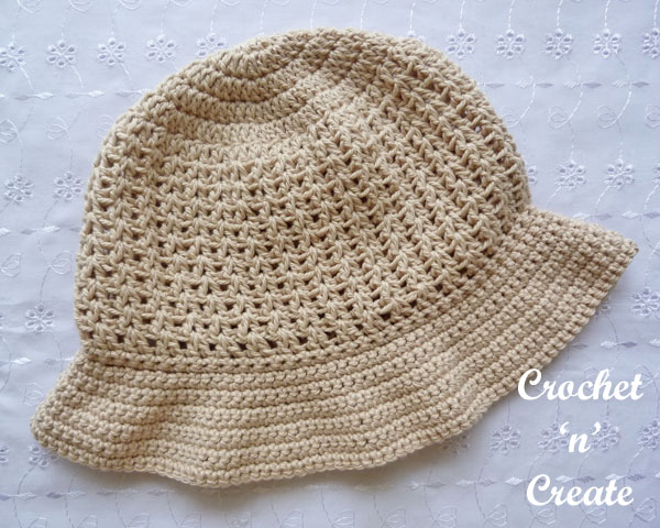 cotton sun hat pattern13