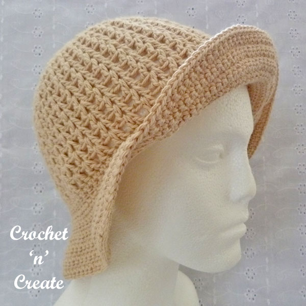 brimmed cotton sun hat8