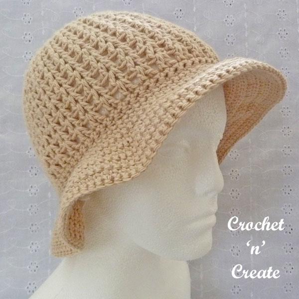 brimmed cotton sun hat9