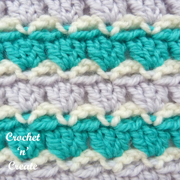 parquet crochet stitch tutorial